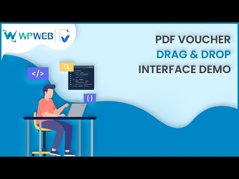 Woocommerce Pdf Voucher Drag & Drop Interface demo thumbnail