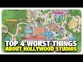 TOP 4 WORST Things about Disney's Hollywood Studios | Best and Worst | 04/05/19