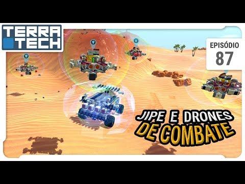 TerraTech – Jipe e Drones flutuantes de combate – Ep 87