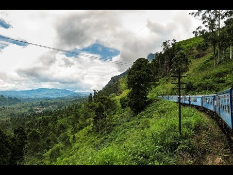 Sri Lanka Railway Journey (Ella to Nuwara Eliya) Of Awesome Nature
