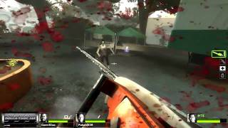 Left 4 Dead 2: Chainsaw Massacre Gameplay (PC HD)