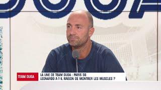 PSG : Duga d'accord avec Leonardo qui protège ses joueurs