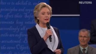 Дебаты Хиллари Клинтон и Дональда Трампа  второй тур  9 октября (перевод)