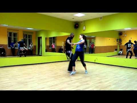 Jorge Maryano / Oksana Andreeva Carioca Dance Studio zouk class