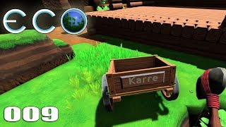 🔨 ECO 009 | Krasse Karre - Der neue Holztransport | Let's Play Gameplay Deutsch thumbnail
