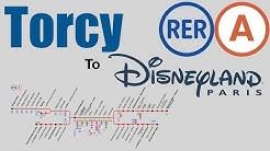 Torcy to Disneyland Paris direct | RER A |