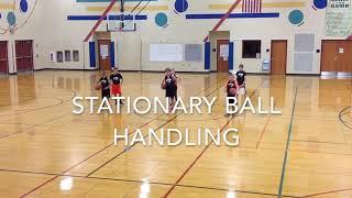 Stationary ball handling