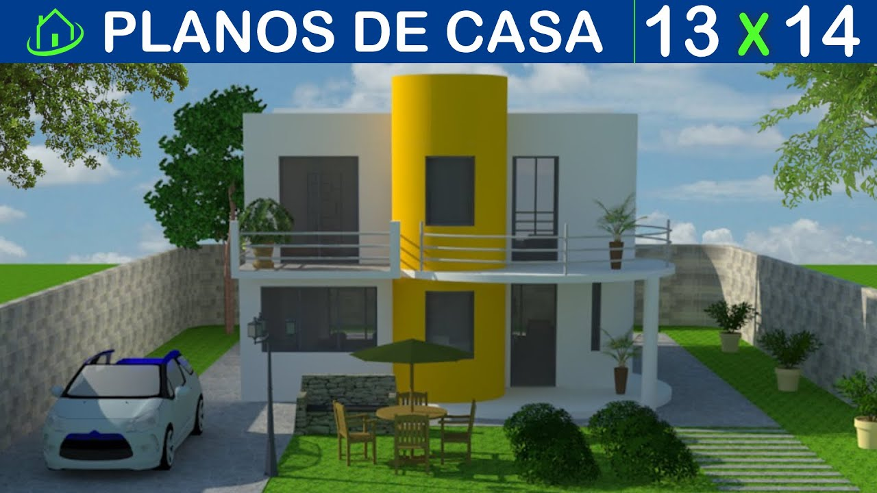Dise os y planos de casas 2 pisos minimalista proyecto for Planos de casas de 2 pisos