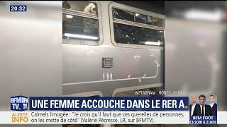 Naissance d'un bébé dans le RER A: