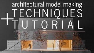 النموذج المعماري تقنيات صنع و التعليمي (خطوة بخطوة نموذج بناء)