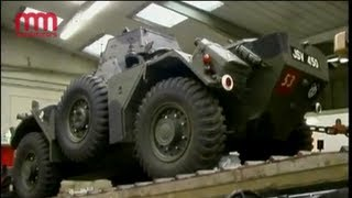 Ferret Scout Car - Army Transport Museum