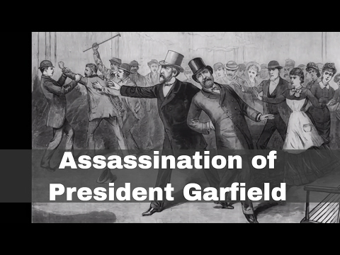 2nd July 1881: President James A Garfield shot by Charles J Guiteau