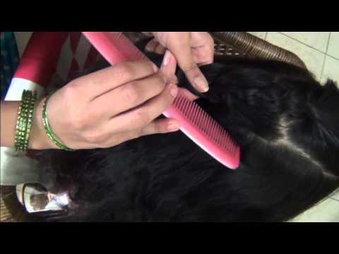 How To Bind Hair Style Lahariya Choti Youtube