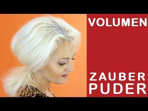 Haar Volumen in 2 Minuten - Zauber Puder - Selber Machen