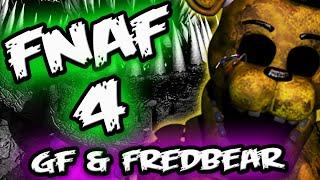 FNAF 4 NIGHTMARE FREDBEAR & GOLDEN FREDDY CONNECTION    Five Nights at Freddy's 4 Nightmare Fredbear