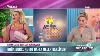 Nuray Sayarı Boğa Burcu yorumu 5 Eylül 2016