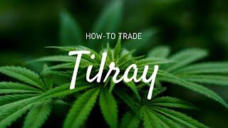[CANNABIS] How to Trade TILRAY [TLRY] Stock  | Stock Option Strategies