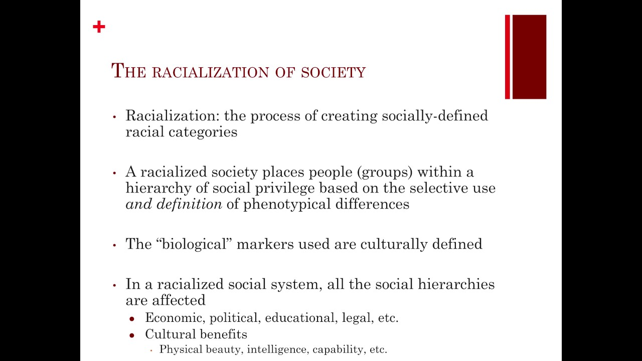Race and Racialization - YouTube