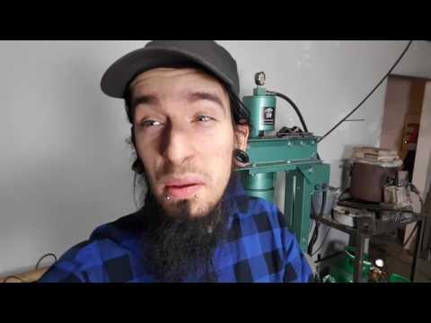 Knifemaking nóż z piły. Vlog#8 Brudas w warsztacie.
