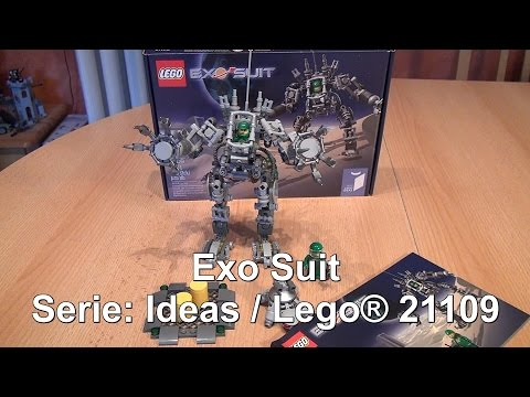 Test LEGO Exo Suit (Ideas Set 21109 im Review)