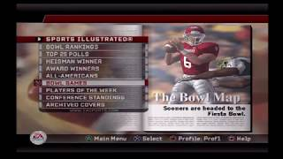 NCAA FOOTBALL 06 -- UPDATED ROSTER -- UPDATED CONF -- UPDATED BOWLS