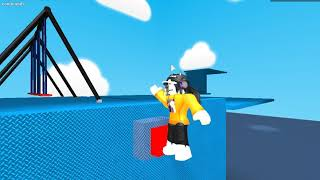 (ROBLOX) Mechanics ( Wall Jump And Roll)