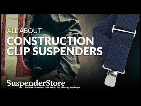 Construction Clip Suspenders