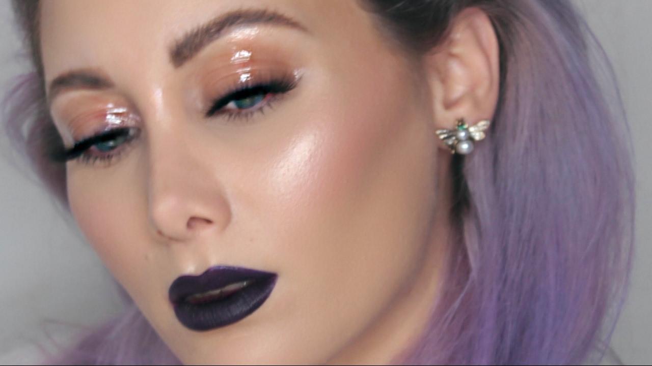 Favoloso VALENTINE O ANTI VALENTINE? - Glossy eyes & labbra scure makeup  BU78