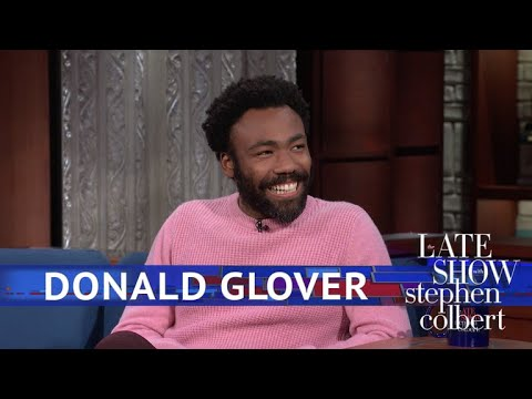Donald Glover Meets The Girl Scout Who Went Viral With 'Redb