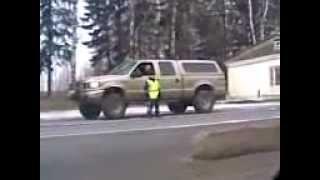 Верзила ГаИшник, самое ржачное видео!