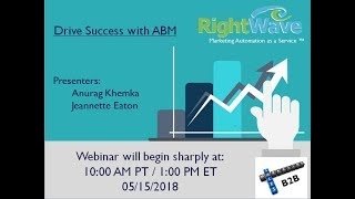 Webinar: Seven Key Strategies to Drive Success with B2B Account Based Marketing (ABM)
