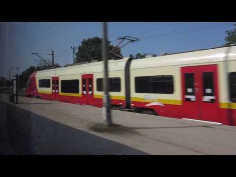 Train Trip 201609 Lithuania-Spain. Białystok - Warszawa Centralna