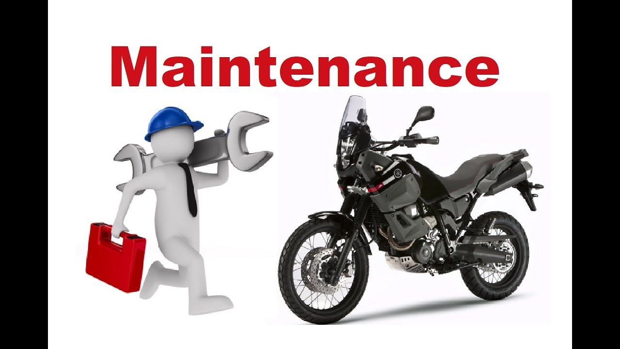Simple Maintenance for Long Motorcycle Trips DIY - YouTube