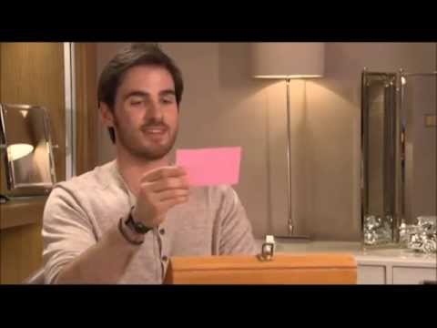 Colin O'Donoghue opens the treasure chest