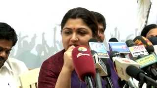 LTTE is a Terrorist Organisation - Actress Kushboo After Joining Congress Party - RedPix24x7