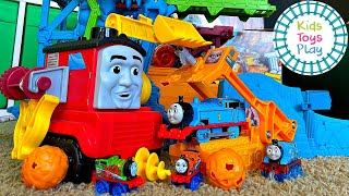 Thomas & Friends™ Super Cruiser and Cave Collapse | Our Longest Track Ever!
