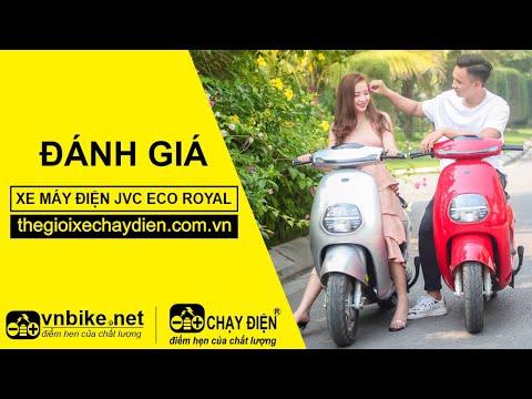 Đánh giá xe máy điện JVC eco Royal