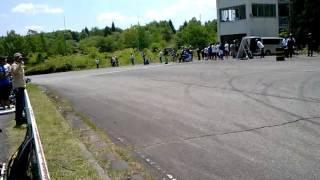 2011年度関東高等学校自転車競技大会ロード競技ゴール