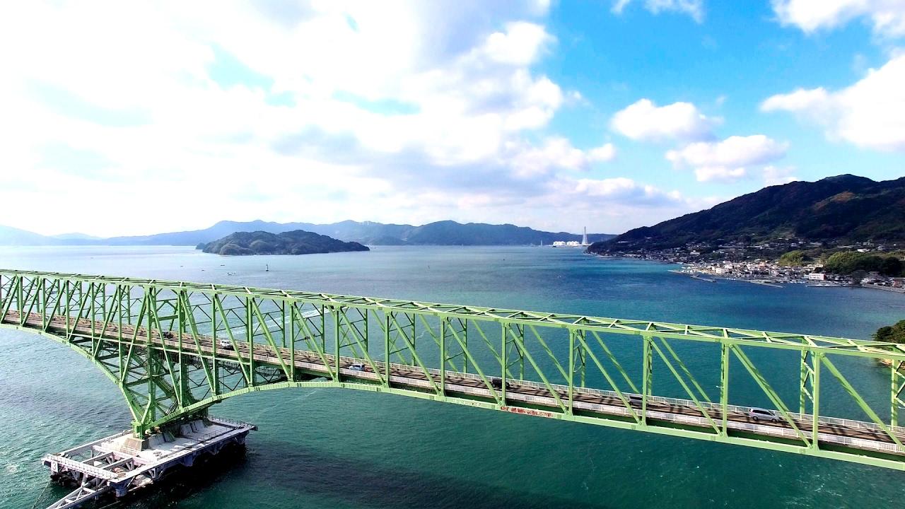 碧い海と青い空。爽快サザンセトロード
