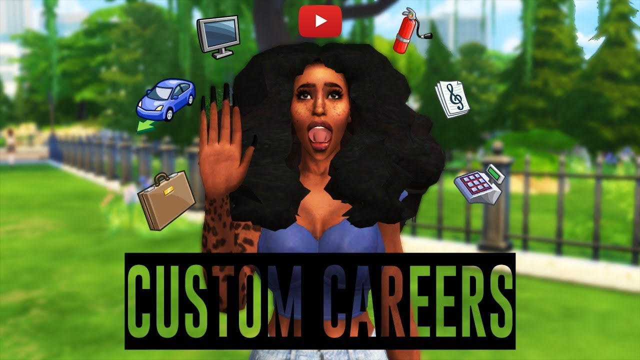 Youtuber career sims 4