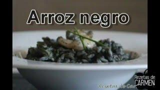 Como preparar Arroz negro - Rezetas de Carmen