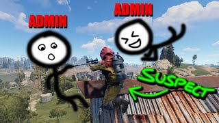 CATCHING & BANNING a CHEATER! | Rust Admin