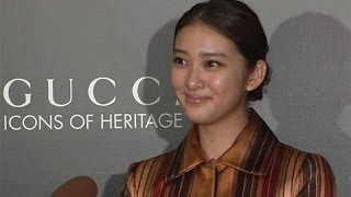 女優の武井咲さんが11月15日、「JPタワー KITTE」(東京都千代田区)で...