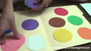 Kid's educational activity-file folder game tutorial