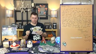 Unboxing a Halloween Decorations Care Package Haul(?)