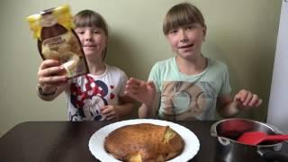 ДЕТИ готовят вкусный торт. Видео для детей.