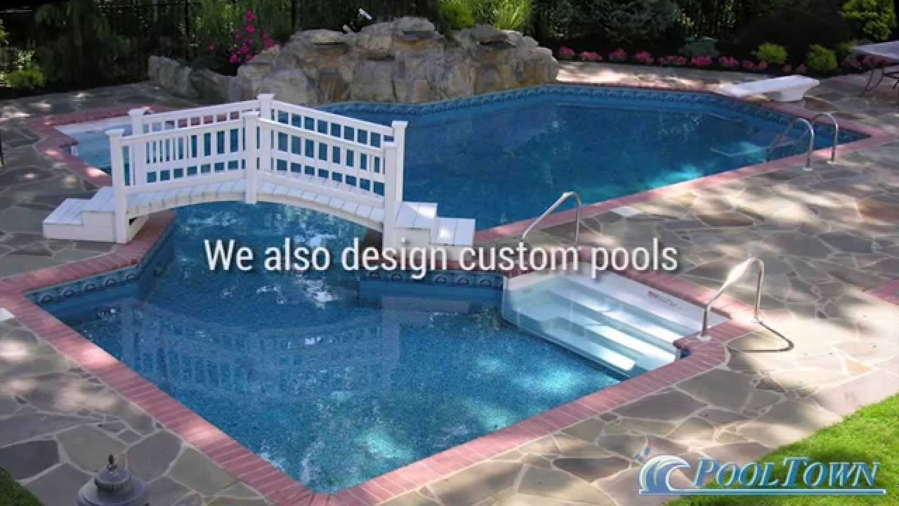 New jersey in ground pool builder custom in ground for New swimming pool
