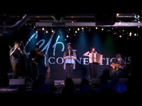 Eabhal performing at Showcase Scotland 2019