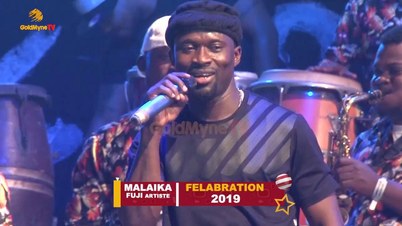 MALAIKA 'S PERFORMANCE AT FELABRATION 2019