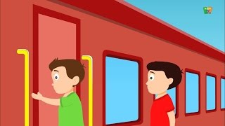 Gaadi Aayi Chuk Chuk | Hindi Rhyme | गाड़ी आयी जुक जुक | Kids Tv India | Hindi Nursery Rhymes
